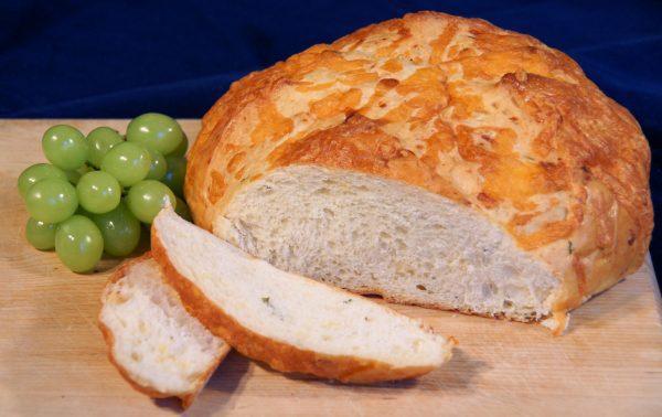 Cheezy Baked Potato Bread