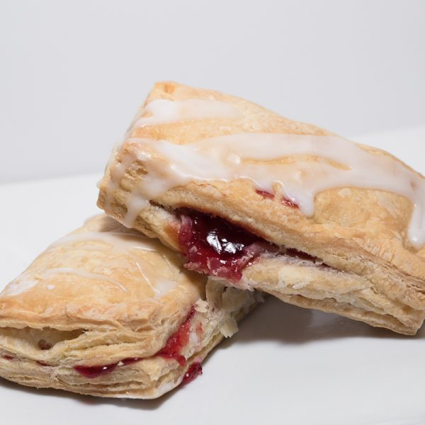 Cherry Puff Pastries