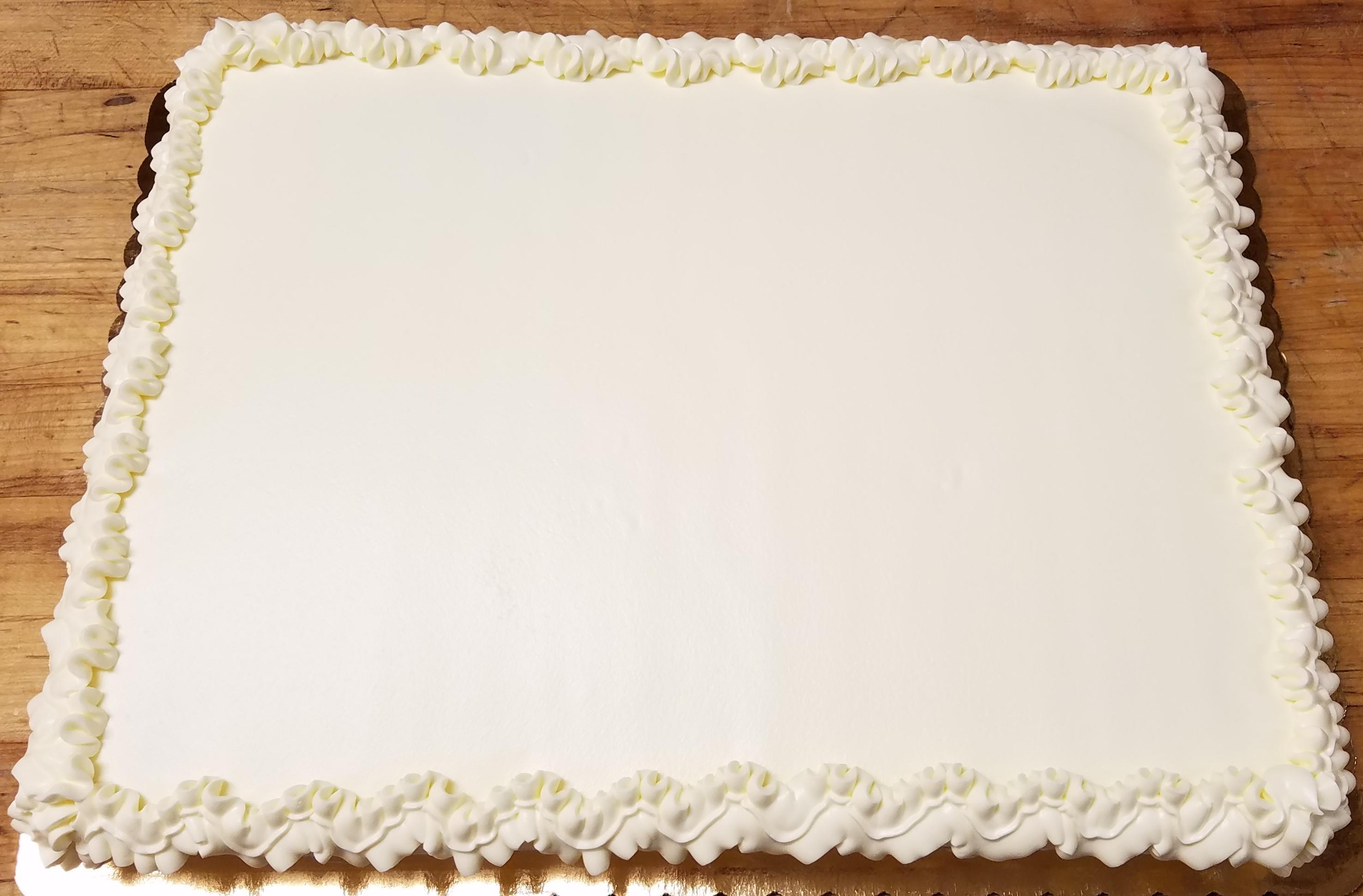 New Glarus Bakery Custom Full Sheet Cake New Glarus Bakery
