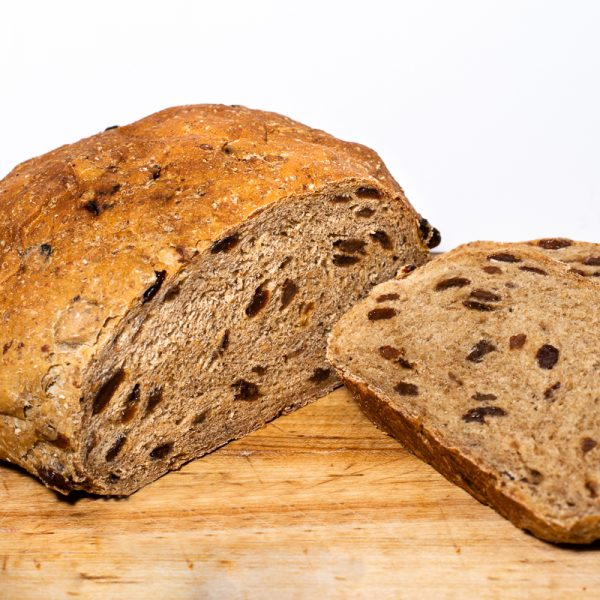 Raisin Pumpernickel Bread