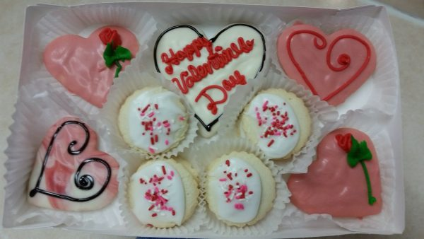 """Be Mine"" Valentine's Cookie Box"