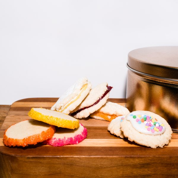 Butter Cookie Tin